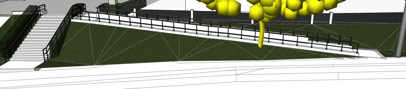 3D Entwurf Rampe
