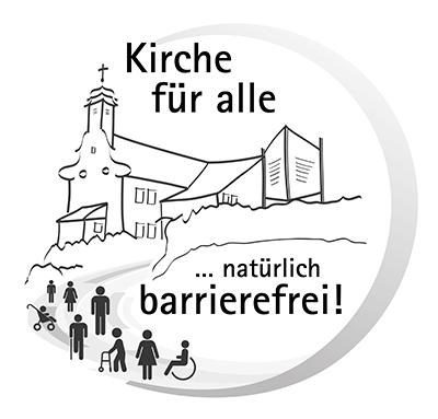 Logo Kirche für alle - natürlich Barrierefrei